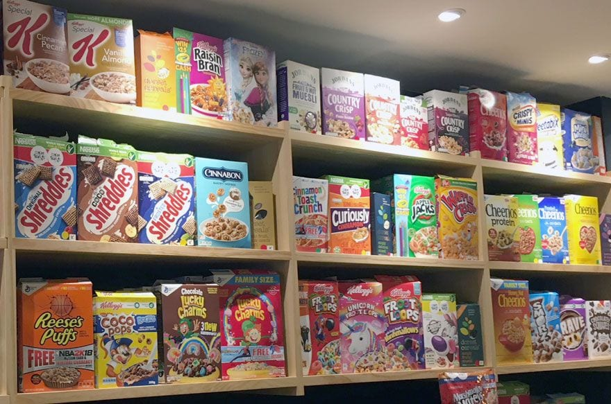 Cereal Hunters Barcelona, una cafeteria molt original per esmorzar o berenar amb nens