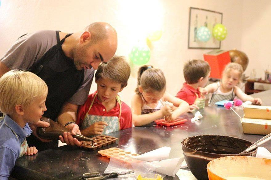 talleres de cocina infantil masterkids en barcelona