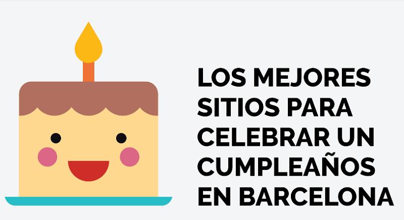 Sitios donde celebrar un cumpleaños infantil