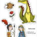 La llegenda de Sant Jordi i un descargable per als vostres fills