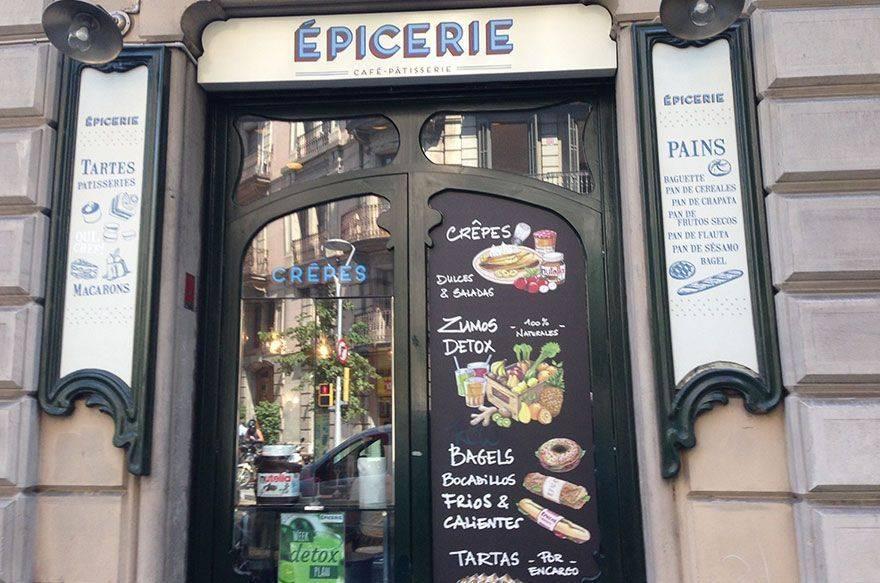 Épicerie, café y pastelería francesa en Barcelona