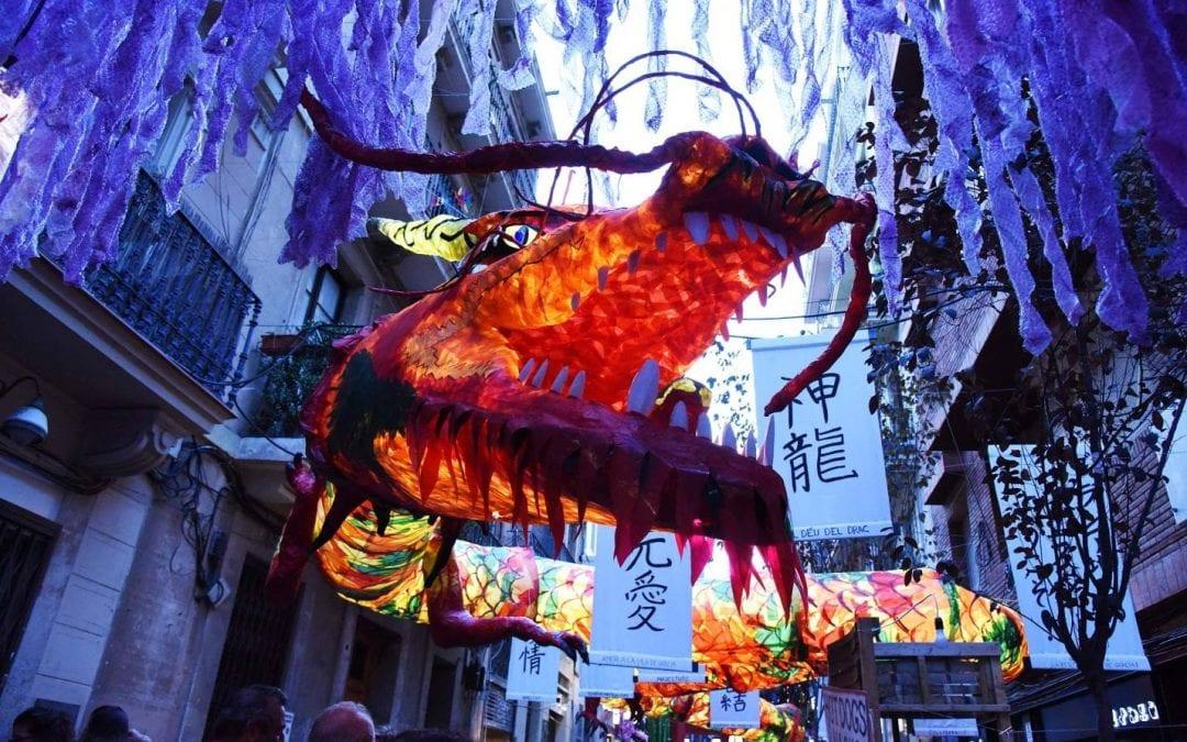 Fiestas populares de agosto en Barcelona