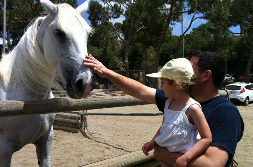 caballos niños barcelona
