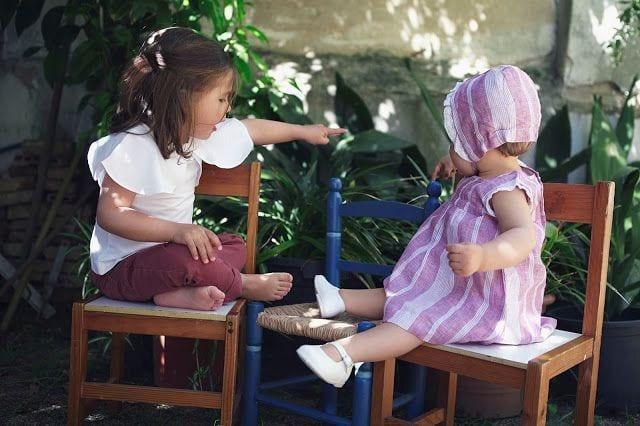 7bedf38a1 Veréis a mis sobrinas con unos conjuntos ideales y unas fotos geniales de  Sara Riera. GOCCO TEAM
