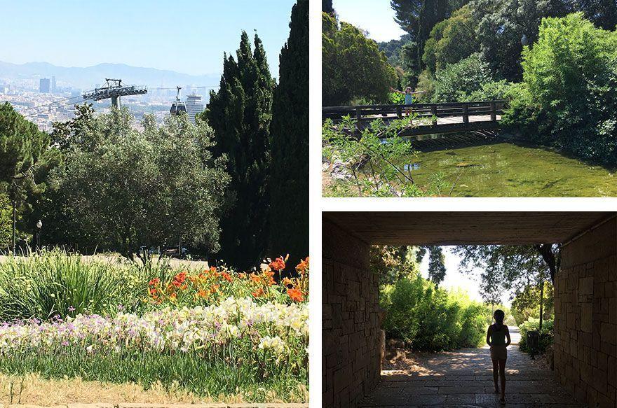 jardines mossen cinto verdaguer barcelona