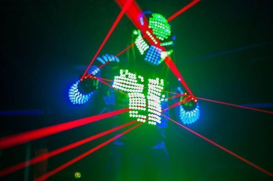 laser para niños barcelona | cumpleaños infantil divertido