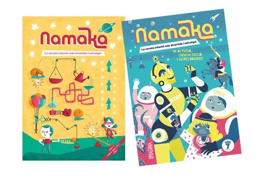 Sorteo Namaka, la revista para niños y niñas de 6 a 11 años