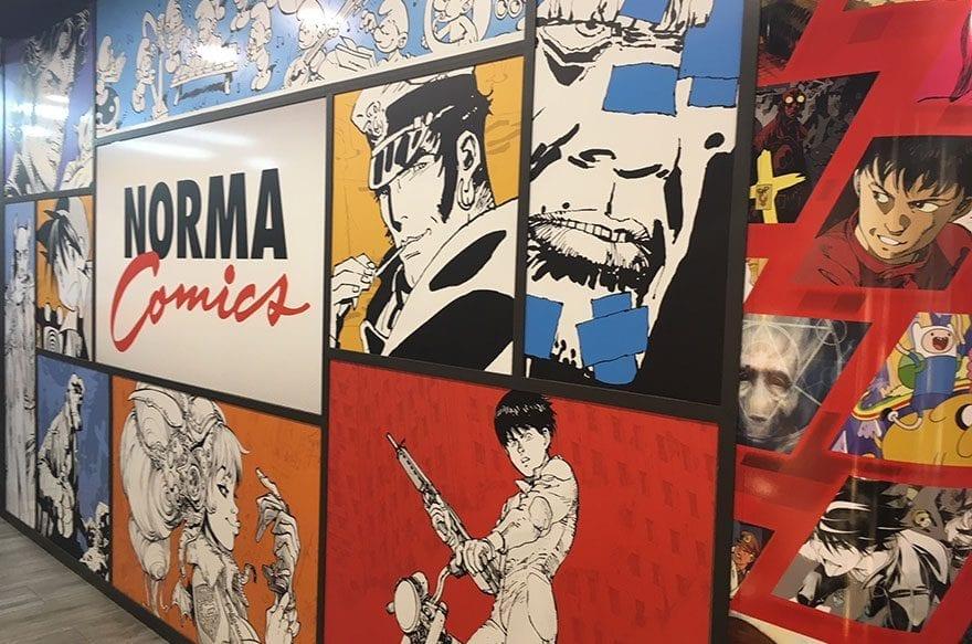 Norma Comics, la mejor librería de comics de Europa está en Barcelona