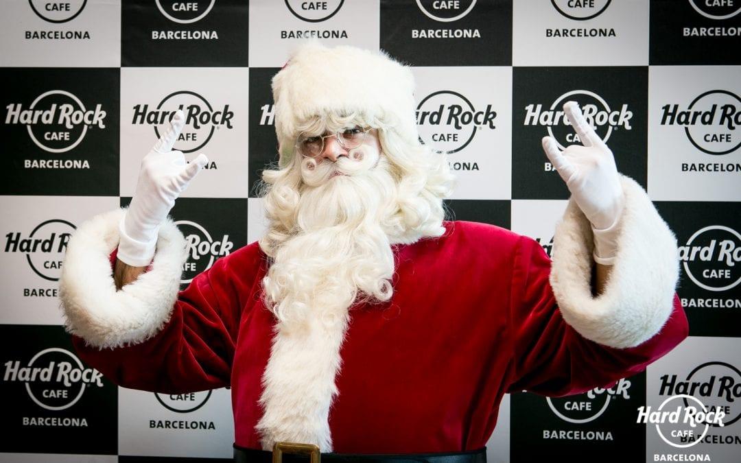 SORTEO: Desayuno en Hard Rock Café con Papá Noel