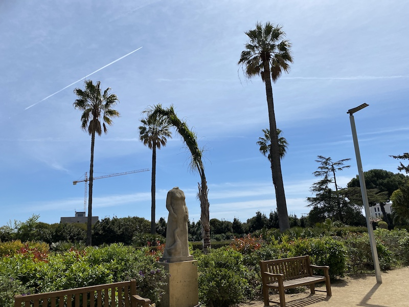 Parque del «Eina» y terraza Aula Zero