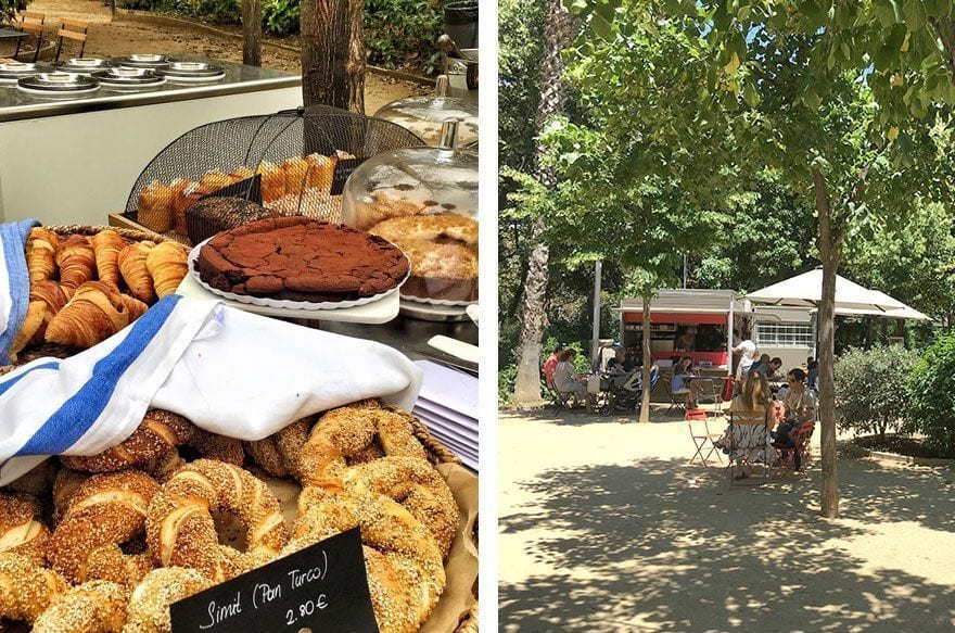pinhan cafe | turó park barcelona