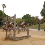 Jardines Joan Brossa y el antiguo Parque de Atracciones de Montjuïc