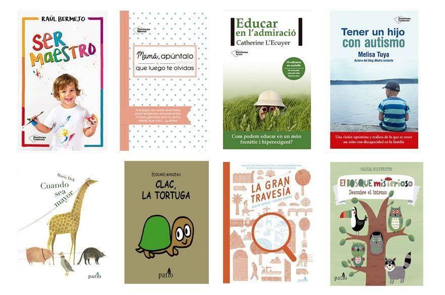 Libros recomendados para familias en Sant Jordi