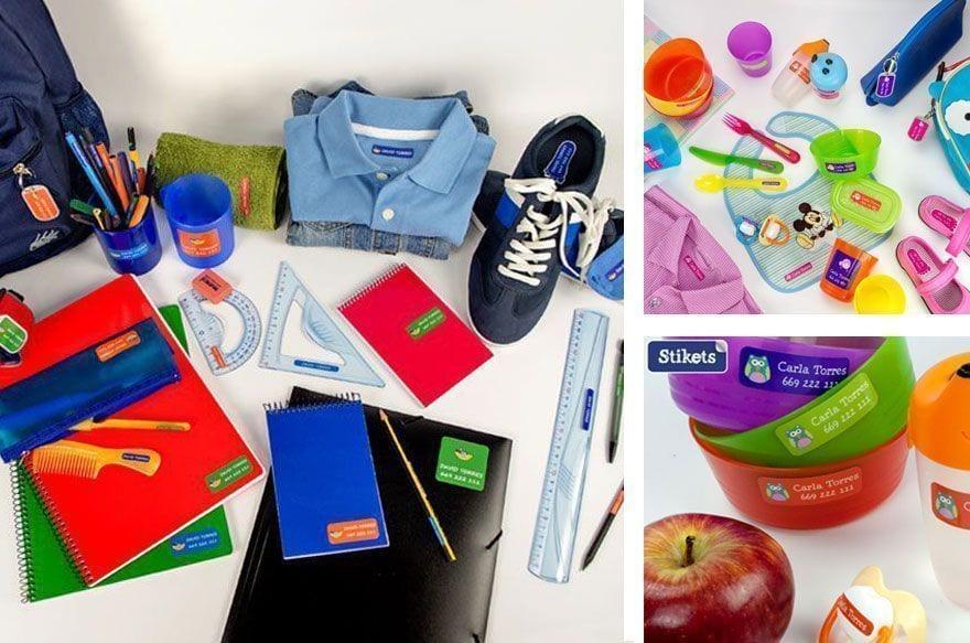 stikets | marcar la ropa infantil