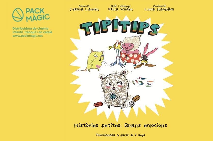 Tipitips, la película infantil más recomendada a partir de 2 años