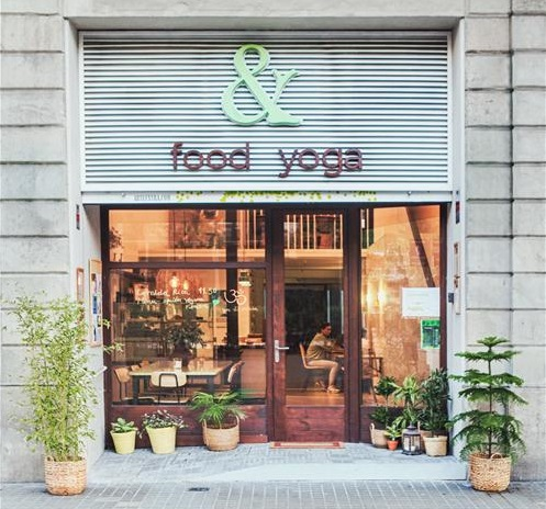 FOOD & YOGA BARCELONA