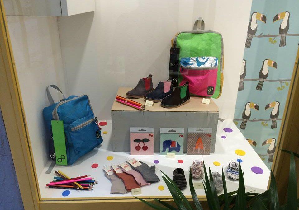 Zapatería infantil De Peus a Terra, en Poblenou